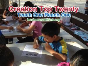 Creation Top Twenty – Teach One Reach One