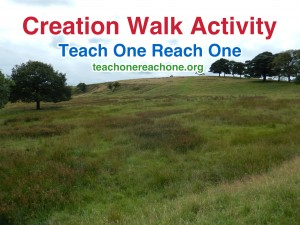 Creation Walk – Teach One Reach One