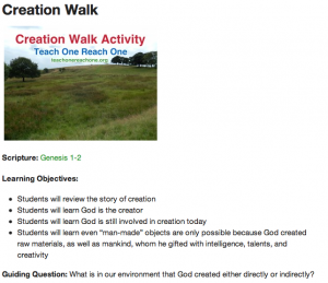 The Guided Question in Bible Classes for Kids and Teens - Teach One Reach One